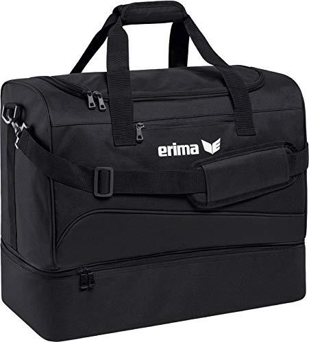 erima Sporttasche mit Bodenfach Sporttasche, 50 cm, 56 Liter, schwarz -