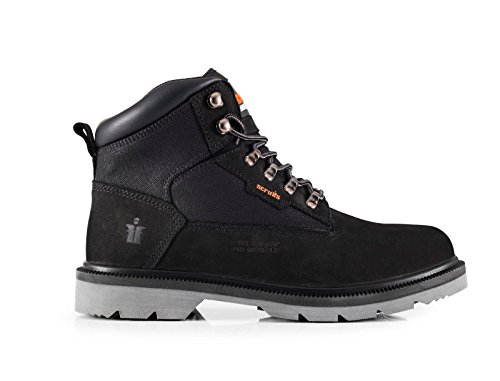 Scruffs TWISTER Safety Boot Black SBP SRC HRO Rated (Sizes 7-12) Mens...
