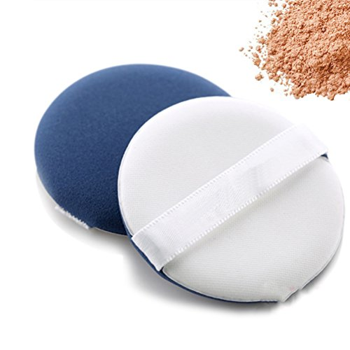 Frcolor 10pcs maquillage cosmétiques Powder Puff (bleu)