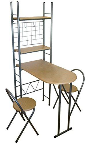 KMH® Praktisches Küchenset mit einklappbarem Tisch thumbnail