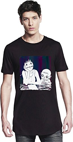 Momo Chilling At School Long T-shirt Small