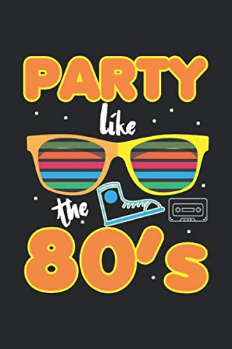 Party like the 80's Organiser Diary Notebook