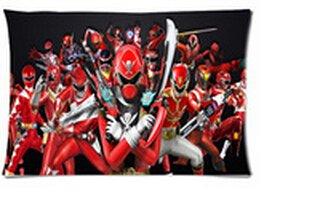 Daily Necessities Hot New Kissenbezüge Custom Kissenbezüge Power Rangers Forever rot Bedruckt Kissen Fall 50,8x 76,2cm Zwei Seiten (Ranger Power Custom)