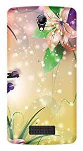 WOW Printed Designer Mobile Case Back Cover For Lyf Wind 3