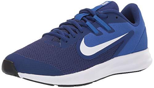 Nike Downshifter 9 GS, Zapatillas de Running para Asfalto Unisex Niños, Multicolor Deep Royal Blue/White/Game...