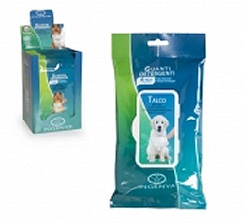Camon Handschuh Tuch Duft Talkum für die schnelle Reinigung Ihres Hund oder Ihres Katze