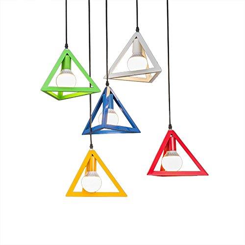 te Iron Diamond Pendelleuchten Birdcage Ceiling Pendelleuchten Home Dekorative Leuchte D38 / 45 / 50Cm, Grün, Durchmesser 25Cm ()