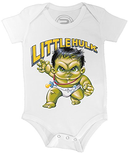 PIXEL EVOLUTION Body Bebé 3D Little Hulk en Realidad Aumentada tamañ
