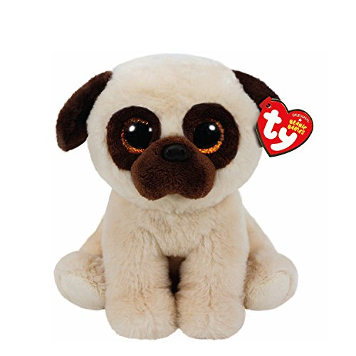 claires-girls-and-womens-beanie-baby-small-rufus-the-pug-soft-toy