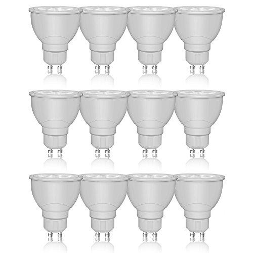 10 x Radium LED Star PAR16 Leuchtmittel Reflektor 3,6W = 35W GU10 Kaltweiß 4000K flood 36° DIMMBAR -