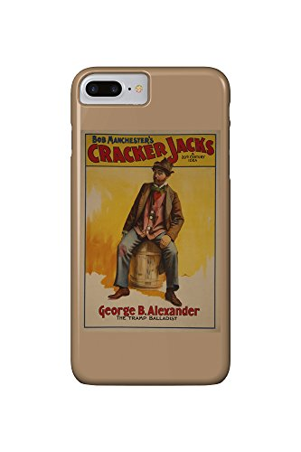 the-cracker-jacks-the-tramp-balladist-poster-iphone-7-plus-cell-phone-case-slim-barely-there