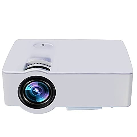 Newest Full HD Projector, HuiHeng 1080P Portable Home Theater Display
