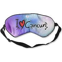 I Love Cancun 99% Eyeshade Blinders Sleeping Eye Patch Eye Mask Blindfold for Travel Insomnia Meditation preisvergleich bei billige-tabletten.eu