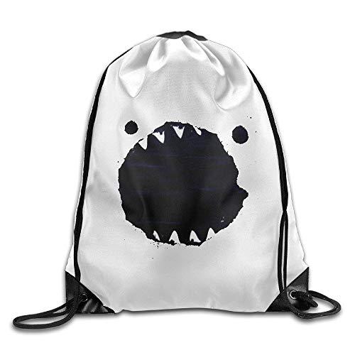 FTKLSS Lightweight Foldable Large Capacity I Chicken NY Sports Bag Drawstring Backpack