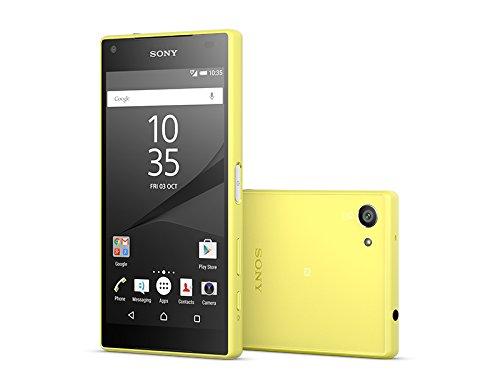 Sony Xperia Z5 Compact 32GB 4G Amarillo - Smartphone  SIM   nica  Android  NanoSIM  EDGE  GPRS  GSM  HSDPA  HSUPA  UMTS  LTE