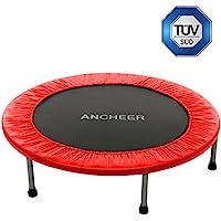 ANCHEER Fitness Trampolin Indoor Garden Jumping Rebounder für Aerobic-Übungen (Größe:91-137 CM, )