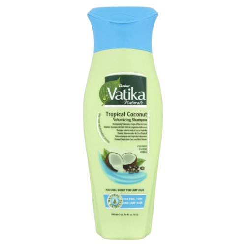 Vatika Naturals Tropical Coconut Volumen Shampoo 200 ml -