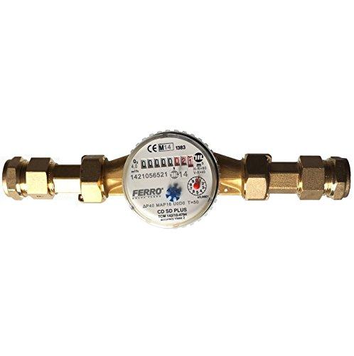 Compteur d'eau débit 4 m3/h - L'Eau Froide pour maison et jardin 3/4\