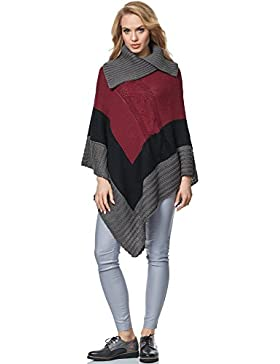 Merry Style Poncho para mujer MSSE0019