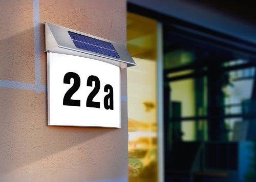 Esotec SOLAR LED Hausnummernleuchte - 2