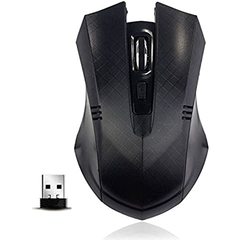 Auzewi 2.4Ghz Mini High Speed Wireless Optical Gaming Mouse For PC Laptop Free Shipping (Button Optical Mini Mouse Pc)