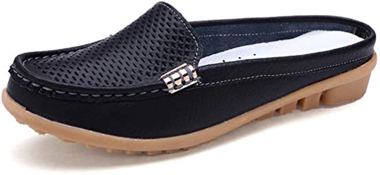 JRenok Chaussures pour Souples Femmes Mocassins Mère Mocassins Mocassins Souples pour Femmes Dames Conduite Ballet Chaussures...B07H4DSRMLParent bdc320