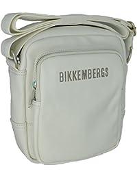 Bikkembergs , Sac pour homme à porter à l'épaule blanc Bianco