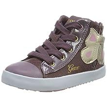 Geox Baby Girls' B Kilwi C Low-Top Sneakers, Pink (Lt Prune C8023), 6 UK