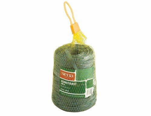 10 Stück SIENA GARDEN Kunstbast 400 m, grün SB-Banderole, für Bindearbeiten im Garten- und Weinanbau