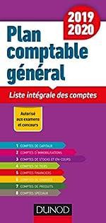 Plan comptable général 2019/2020 - Liste intégrale des comptes de Charlotte Disle