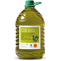 Aceite de Oliva virgen extra - Denominación de origen protegida Les Garrigues - Garrafa 5 L