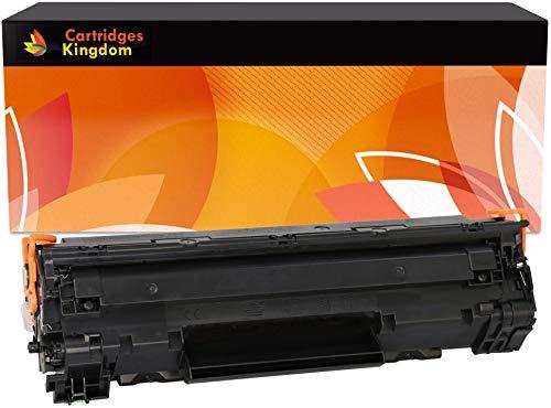 Cartridges Kingdom Schwarz Toner kompatibel zu HP CB435A 35A - Hp 35a Laserjet
