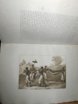 IL COSTUME Antico e Moderno (Afrika - 61 Aquatinta) o STORIA del Governo, della Milizia, della Religione, delle Arti, Scienze ed usanze di tutti i popoli Antichi e Moderni. Provata (Kostüme Dallas)