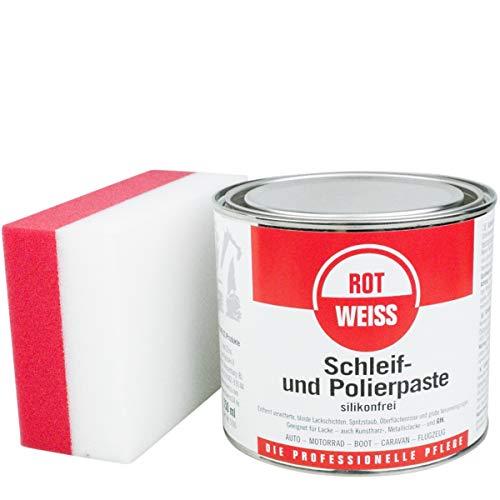Rotweiss Plexiglas Polierpaste