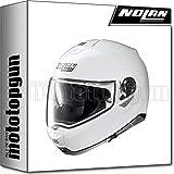 NOLAN CASCO MOTO MODULARE N100-5 CLASSIC METAL BIANCO 005 TG. XS