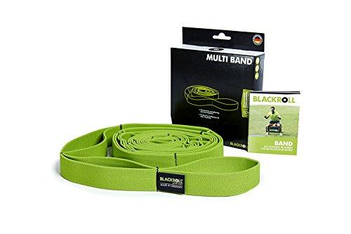 BLACKROLL® BAND - Fitnessbänder. Trainigsbänder in verschiedenen Widerstandsstärken (leicht - mittel - stark - extrem) für eine stabile Muskulatur. Einzeln oder im Set in verschiedenen Farben