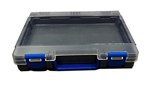 ROSE Kunststoff-Koffer, leer, für 170 Bohrer, OHNE Unterteilungs-Einsatz
