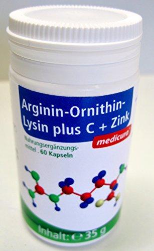 Arginin-Omithin-Lysin plus C+Zink Kapseln - MC