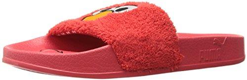 Puma Men's Leadcat Sesame Street Athletic Sandal, High Risk Red/Puma Black, 12 M US 12m Sesame Street