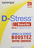 D-stress Booster Magnésium Hautement Assimilé Formule Exclusive de Citrate de Magnésium, Taurine, Vitamines B