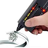 Diamond Tester Pen II V2 Selector Multi Gemstone Tester Herramienta para principiantes y expertos, medidor de pruebas de joyería electrónica profesion