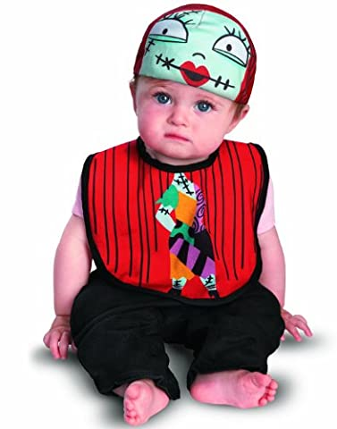 Disguise Sally Bib & Hat Infant (0-6 mths)
