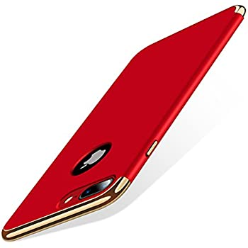 iphone 7 plus case torras 3 in 1 hybrid ultra thin slim hard case with antiscratch matte finish protective plastic phone case cover for apple iphone 7