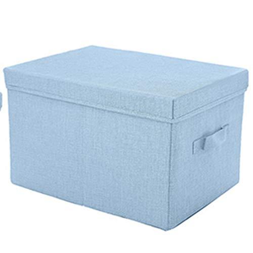 Kofferraum Organizer Cube (ZHANGQIANG-Auto Kofferraum Organizer Aufbewahrungsboxen Mit Deckel, Cube-Aufbewahrungsbox Mit Griffen, Baumwollgewebe Faltbare Aufbewahrungsbox, Aufbewahrungsbehälter Körbe Für Kleidung Spielzeug)
