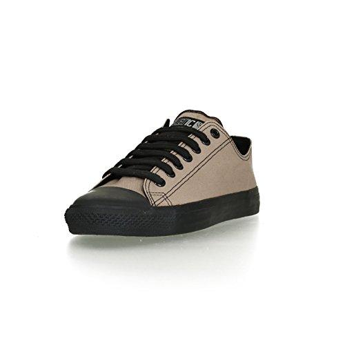 Ethletic Black Cap vegan LoCut - Farbe moon rock grey / black aus Bio-Baumwolle Größe 43 - 2