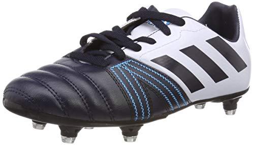 adidas All All Blacks Jnr (SG), Scarpe da Rugby Bambini e Ragazzi, Blu Legend Aero Blue S18/Legend Ink, 36 EU