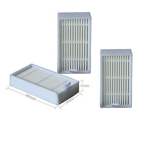 NTNT Ersatz Hepa Allergie Filter Set Saugroboter für Medion MD16192