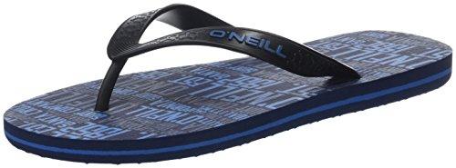 ONeill FM Profile Pattern Flip Flops, Chaussures de Plage et Piscine Homme Blau (Blue Allover Print)