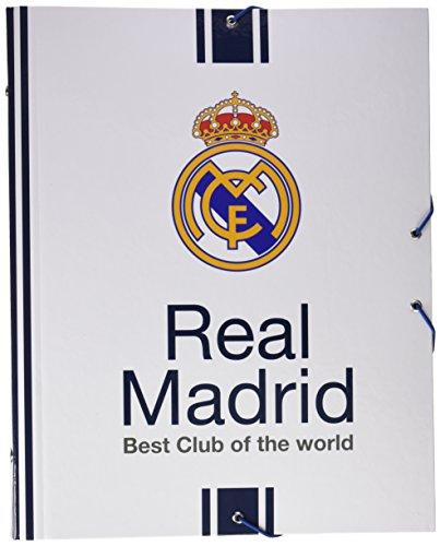 Real Madrid 2017 Organiseur de Sac à Main, 34 cm, Multicolore (Multicolor)