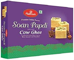 Haldiram's Soan Papdi Cow Ghee, 400g